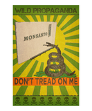 Monsanto - Don't tread on me - Women's crew neck T-shirt