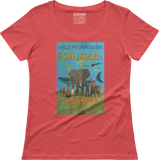 Ecological Civilization - Women's scoop neck T-shirt