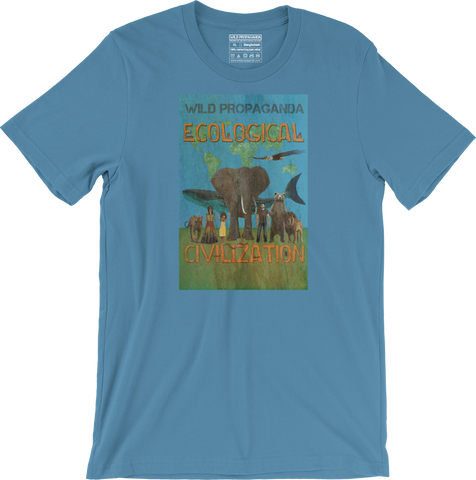 Ecological Civilization - Men's/Unisex T-shirt