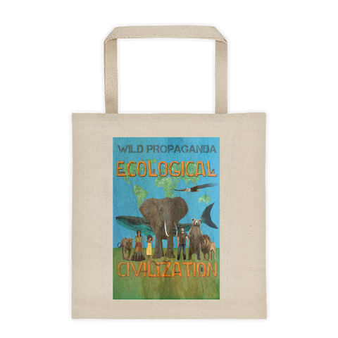 Ecological Civilization - Canvas Tote