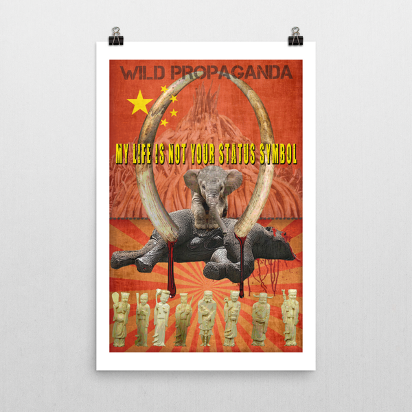Elephant - I AM NOT YOUR STATUS SYMBOL - Poster