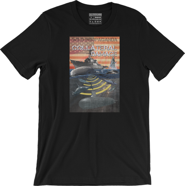 Whales - Collateral Damage - Men's/Unisex T-shirt