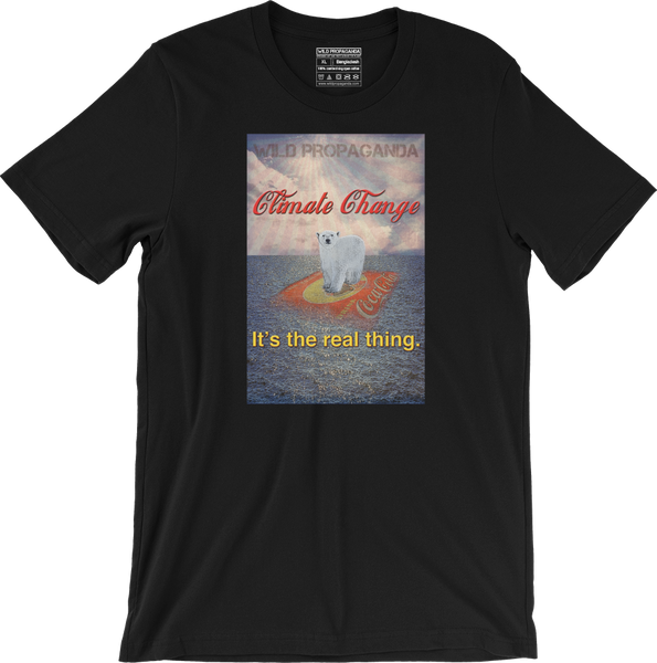 Climate Change - It's the real thing - Men's/Unisex T-shirt