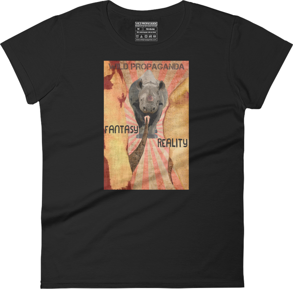 Rhino - Fantasy/Reality - Women's crew neck T-shirt