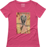 Rhino - Fantasy/Reality - Women's scoop neck T-shirt