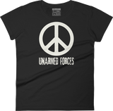 Unarmed Forces - Women's crew neck T-shirt