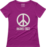 Unarmed Forces - Women's scoop neck T-shirt