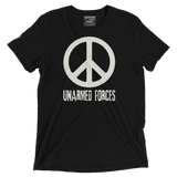Unarmed Forces- Vintage Black Tee