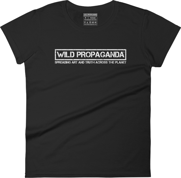Wild Propaganda - Official Logo - Women's crew neck T-shirt