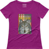 Wolf - Your myth is my demise - Women's scoop neck T-shirt