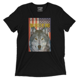 Wolf - Your myth is my demise - Vintage Black Tee