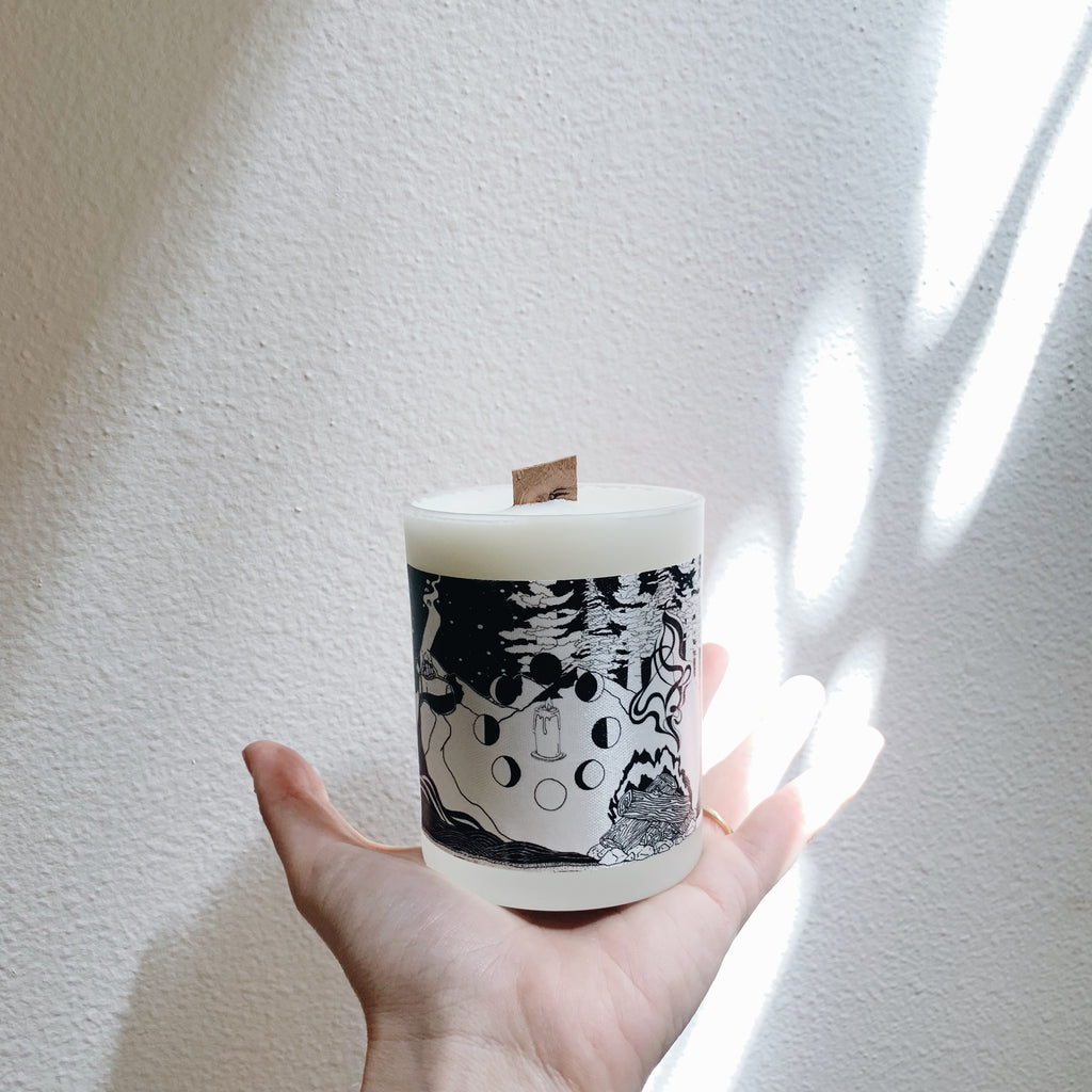 BRAND NEW! Ritual Candle revamped with Elemental Design