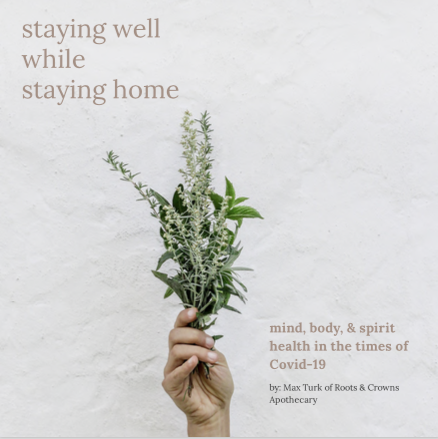 Staying Well while Staying Home: An E-Zine for These Days