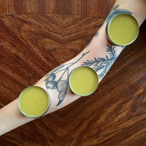 Herbal Tattoo Balm for Healing Tattoos & Pretty Much Everything Else