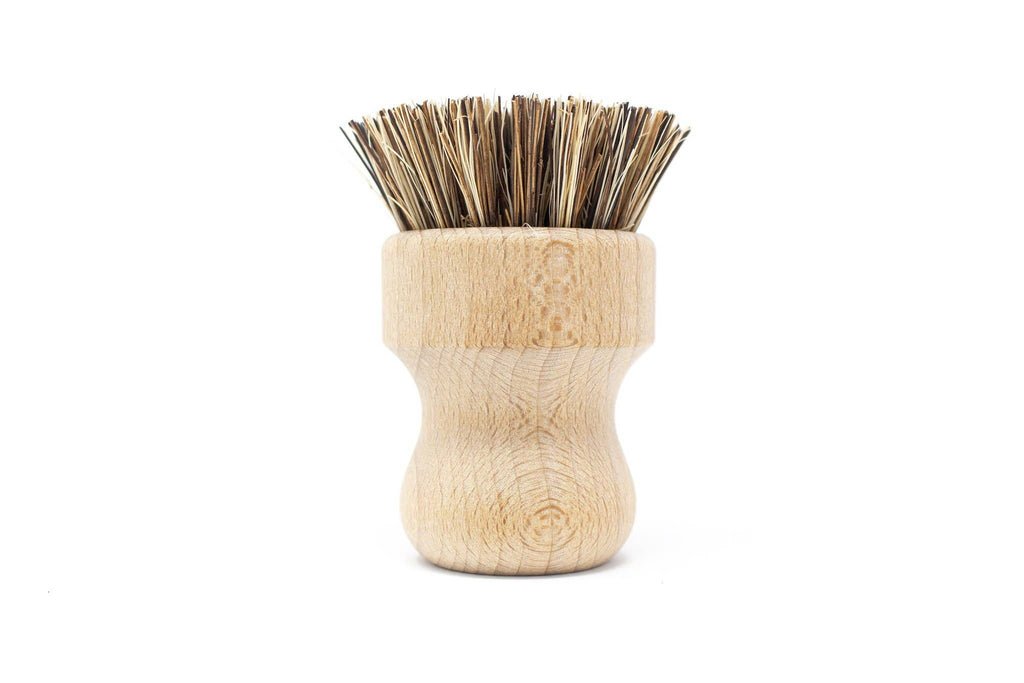 Beechwood Pot Scrubber Brush