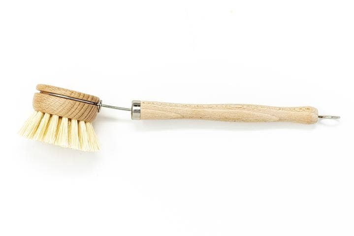 Beechwood Long Handle Dish Brush