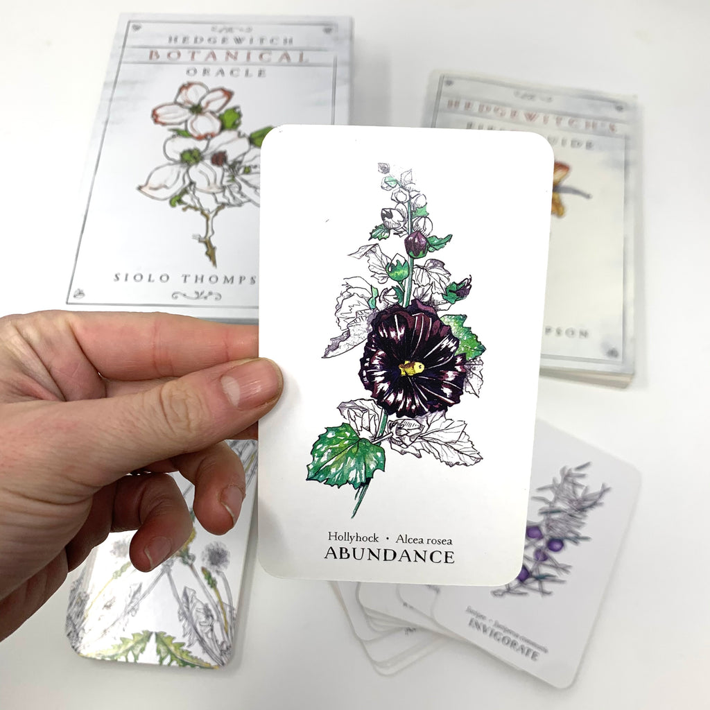 The Hedgewitch Botanical Oracle Deck