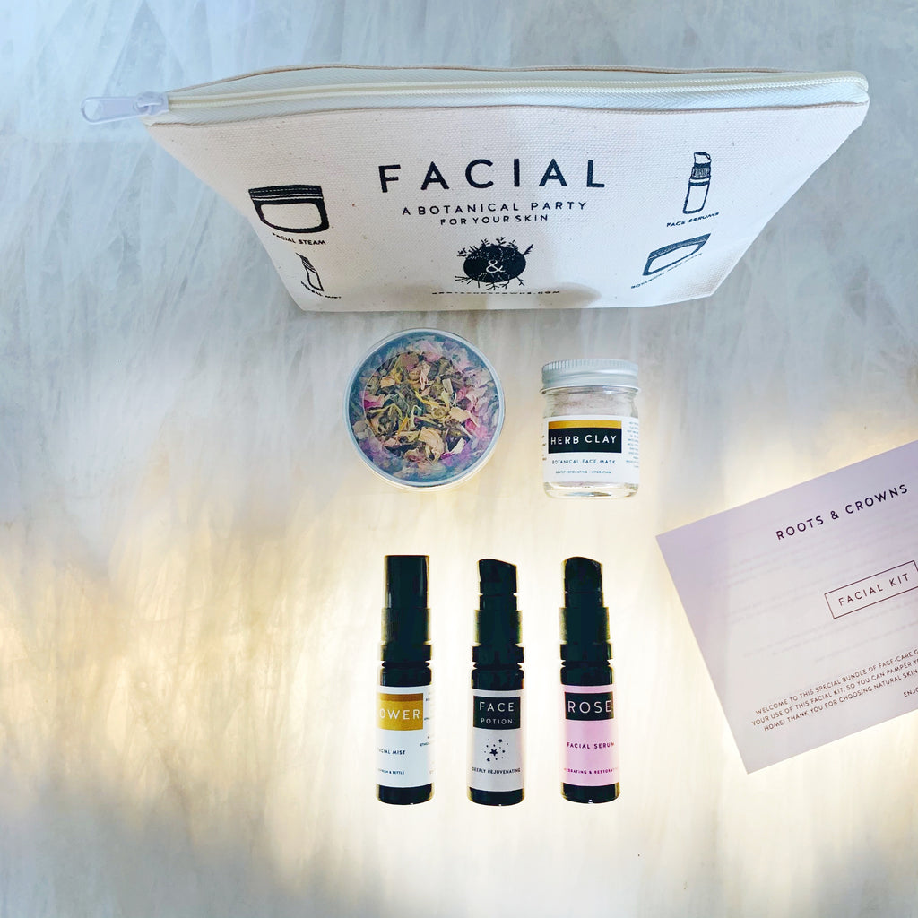 NEW! The Facial Kit: a multi-step party for your skin!
