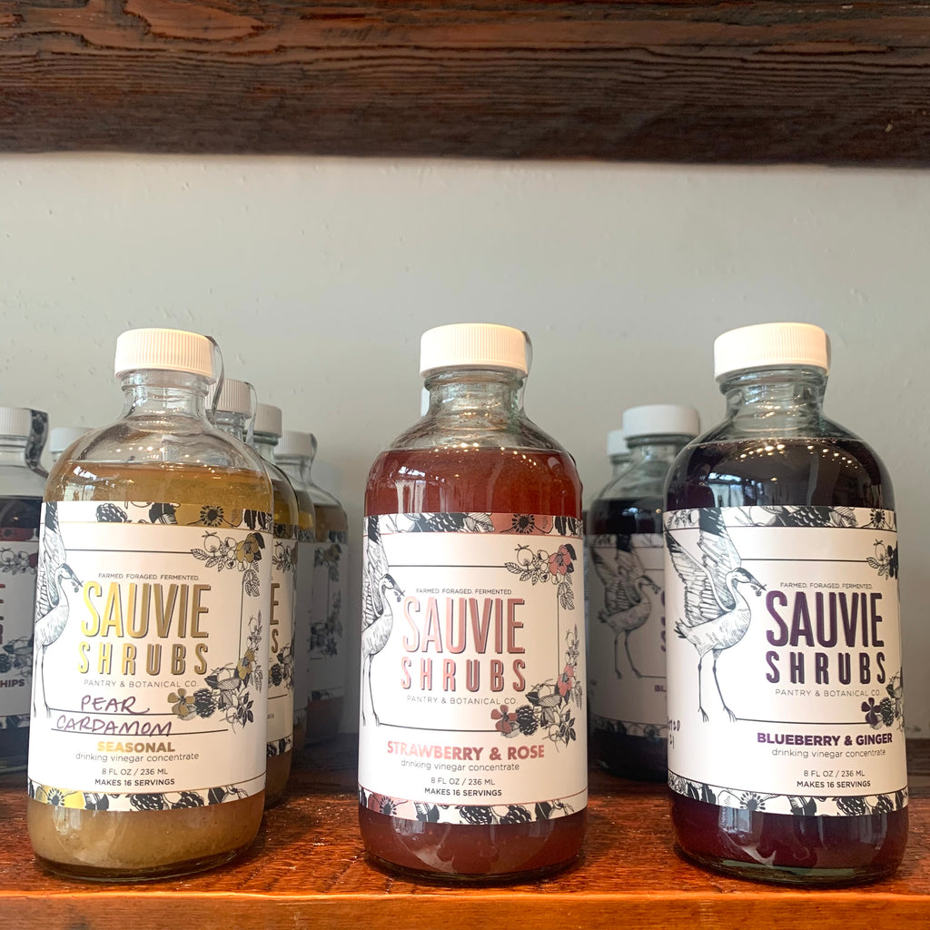 Sauvie Shrubs & Fire Cider