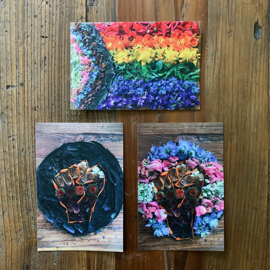 Botanical Postcards Set of 3: 100% Proceeds Donated