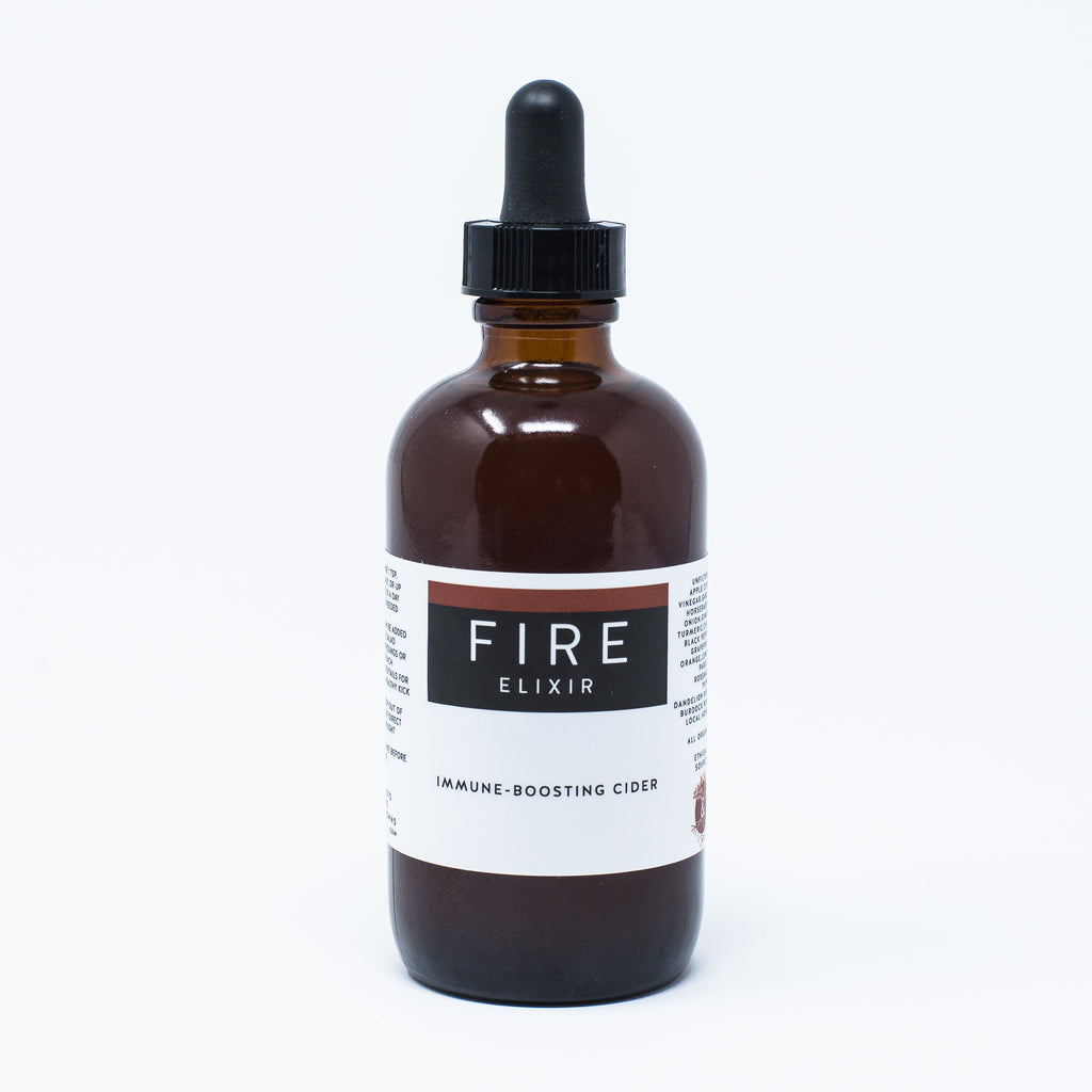 Fire Elixir: Warming Immune Boosting Fire Cider