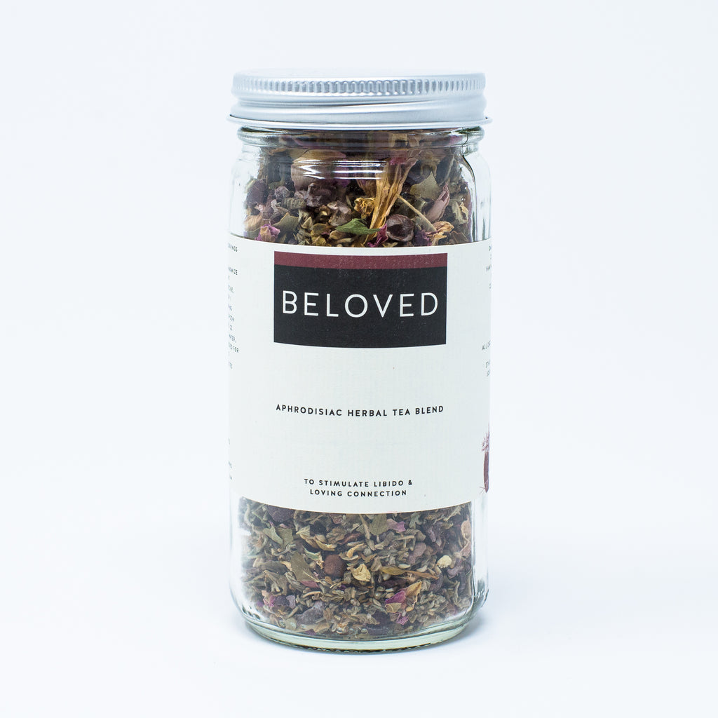 Beloved: Aphrodisiac Herbal Tea Blend