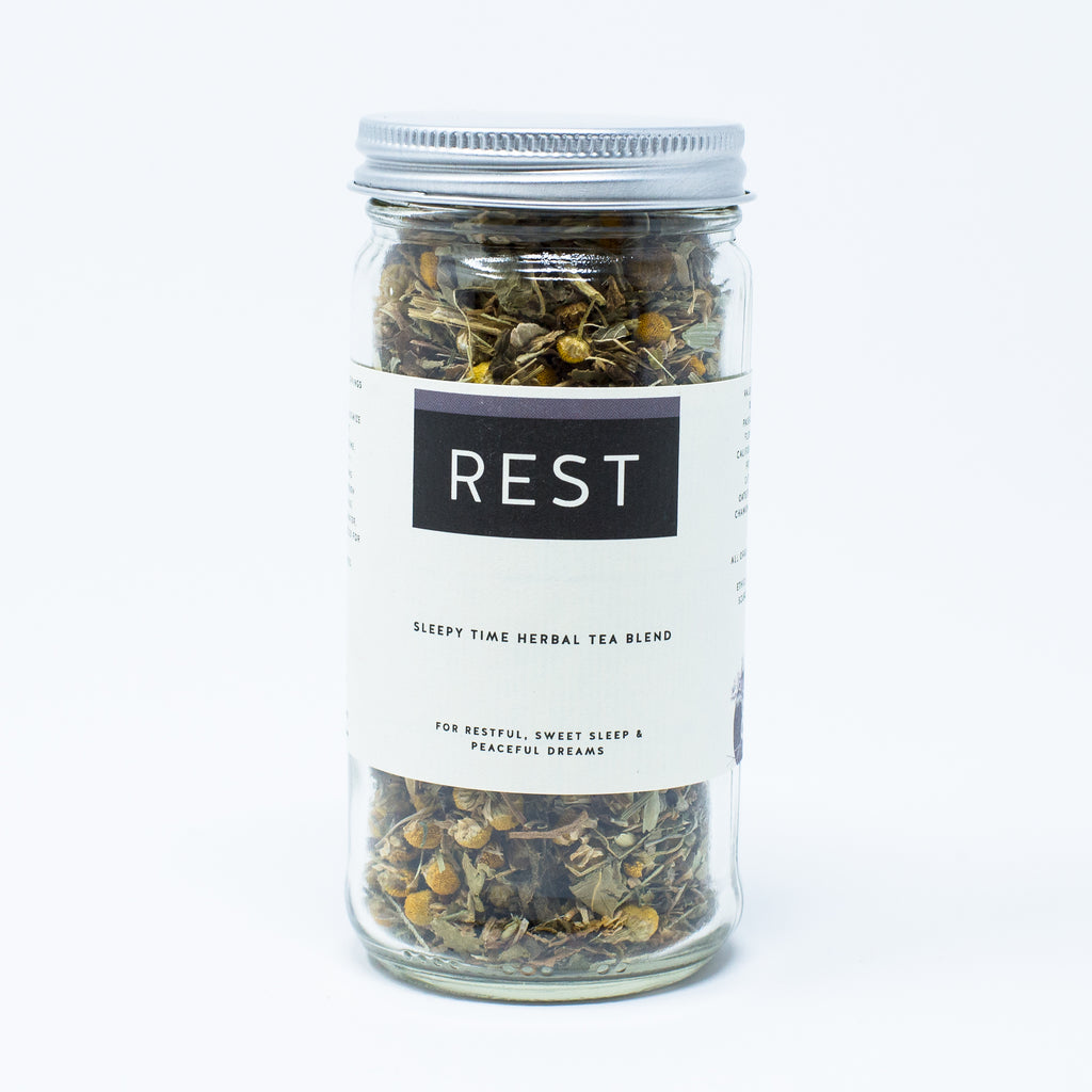 Rest Well: A Sleepy-time Herbal Tea Blend