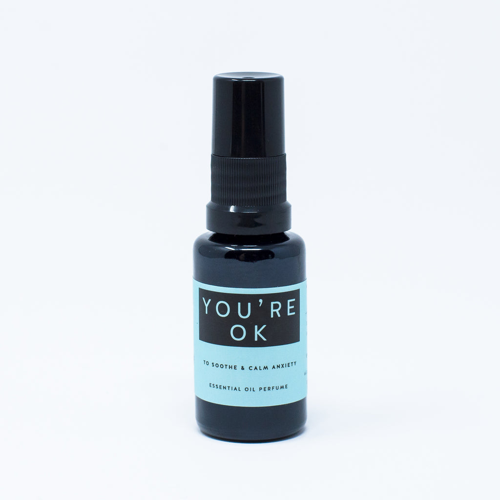 You're Ok: Essential Oil Perfume Mist for Hair, Body, Spaces
