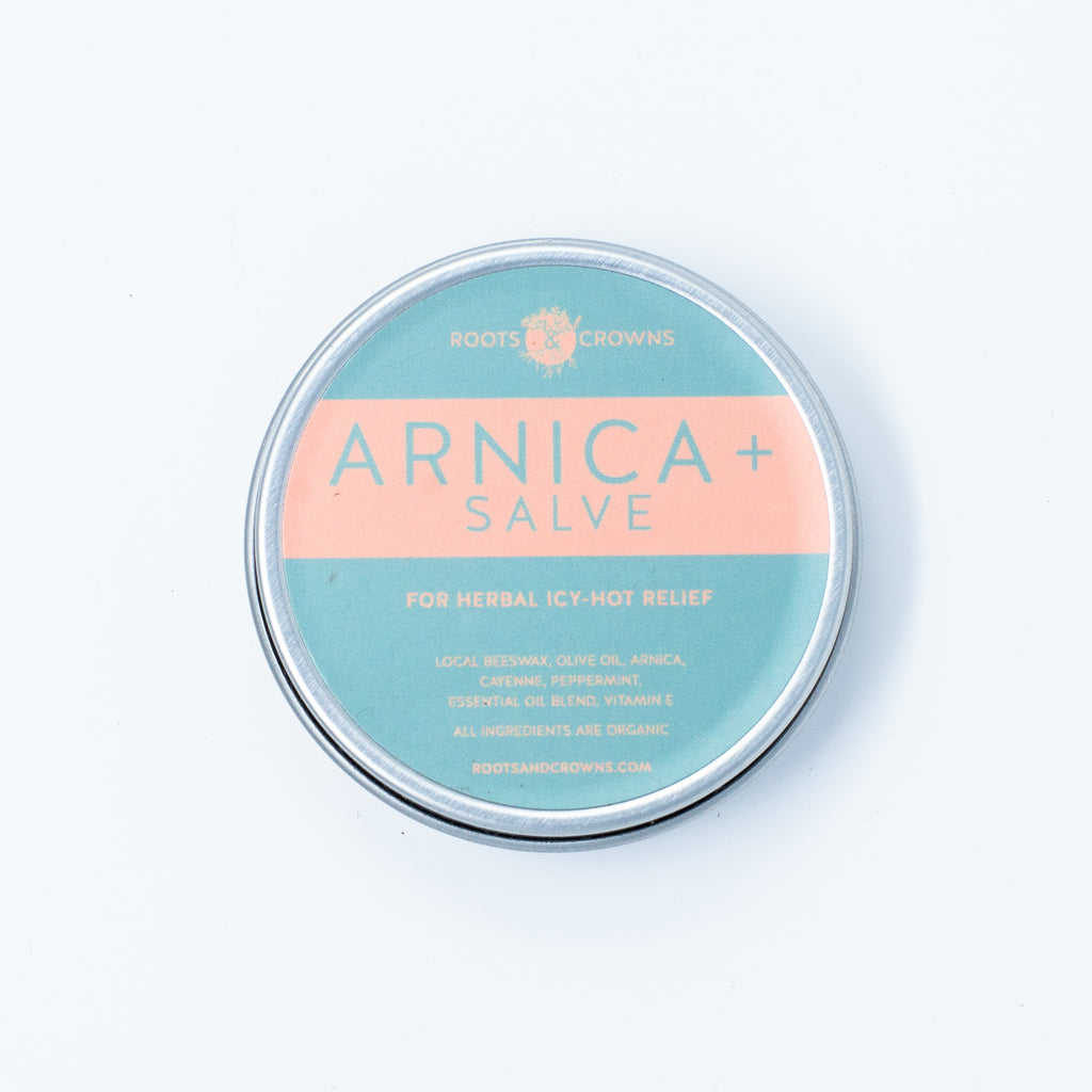 Arnica Salve with Cayenne & Peppermint: For Pain Relief
