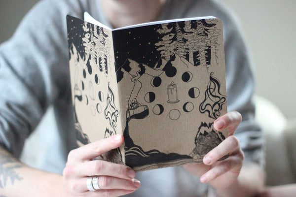 Elemental Blank Notebook