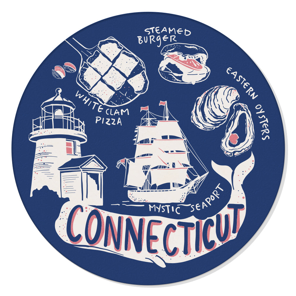 Connecticut Coaster Set