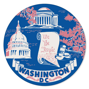 Washington D.C. Coaster Set