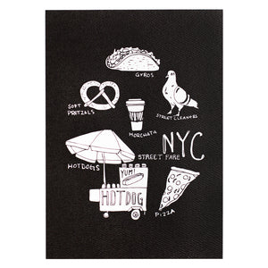 NYC Street Fare Art Print
