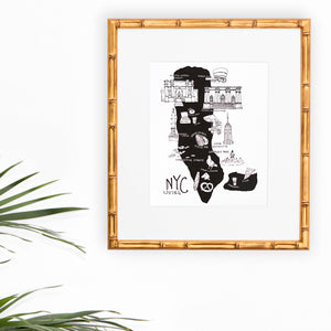 NYC Living Art Print