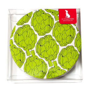 Artichokes Coaster Set