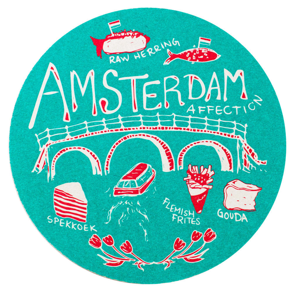 Amsterdam Affection Coaster Set