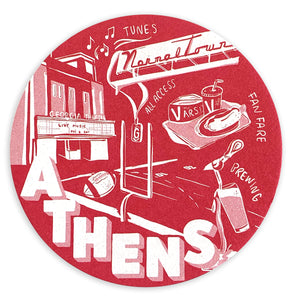 Athens Coaster Set
