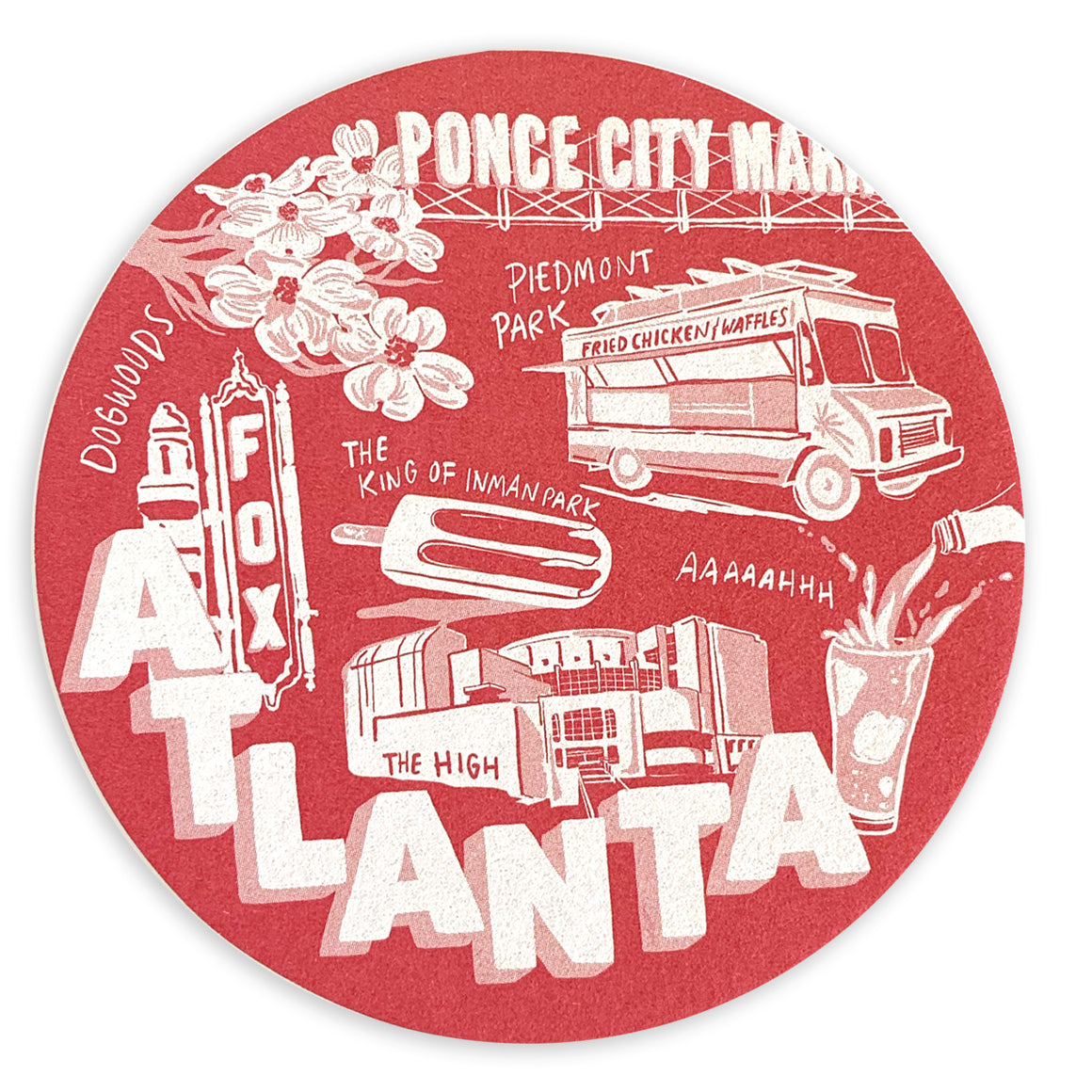 Atlanta Coaster Set