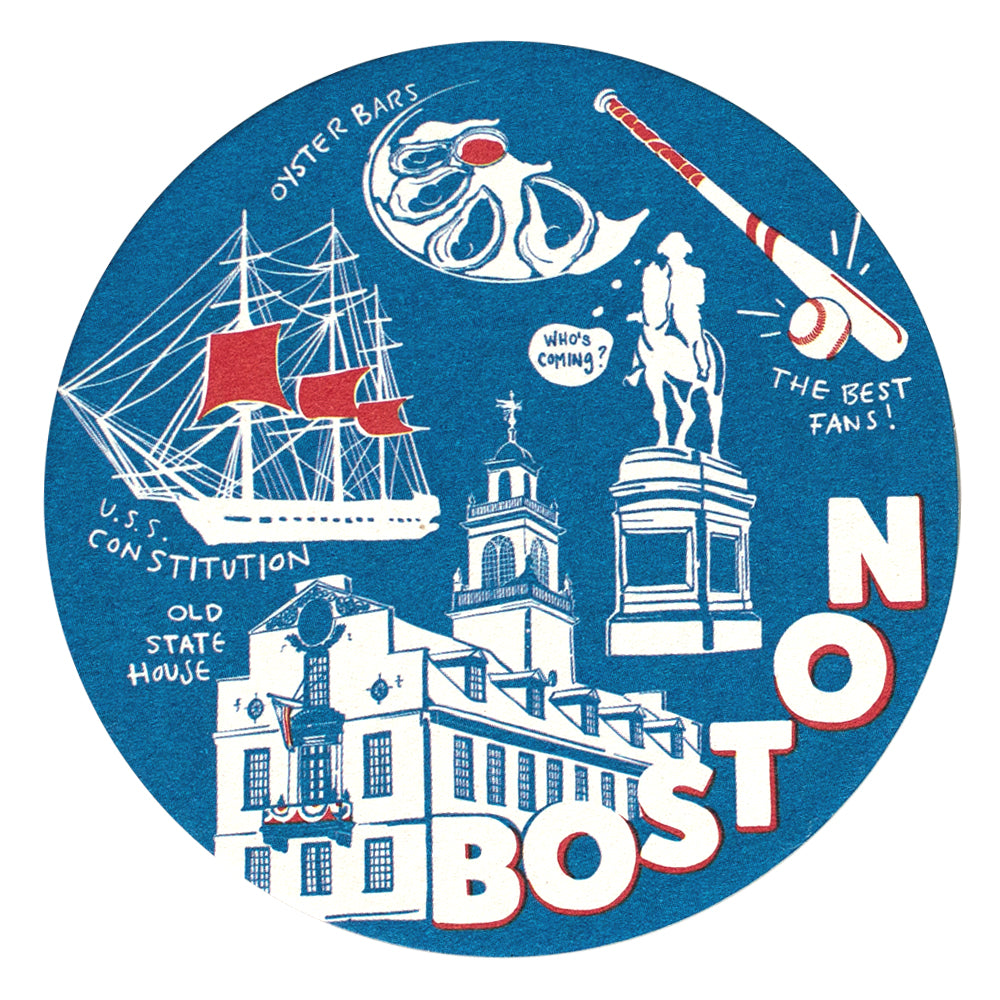 Boston Coaster Set