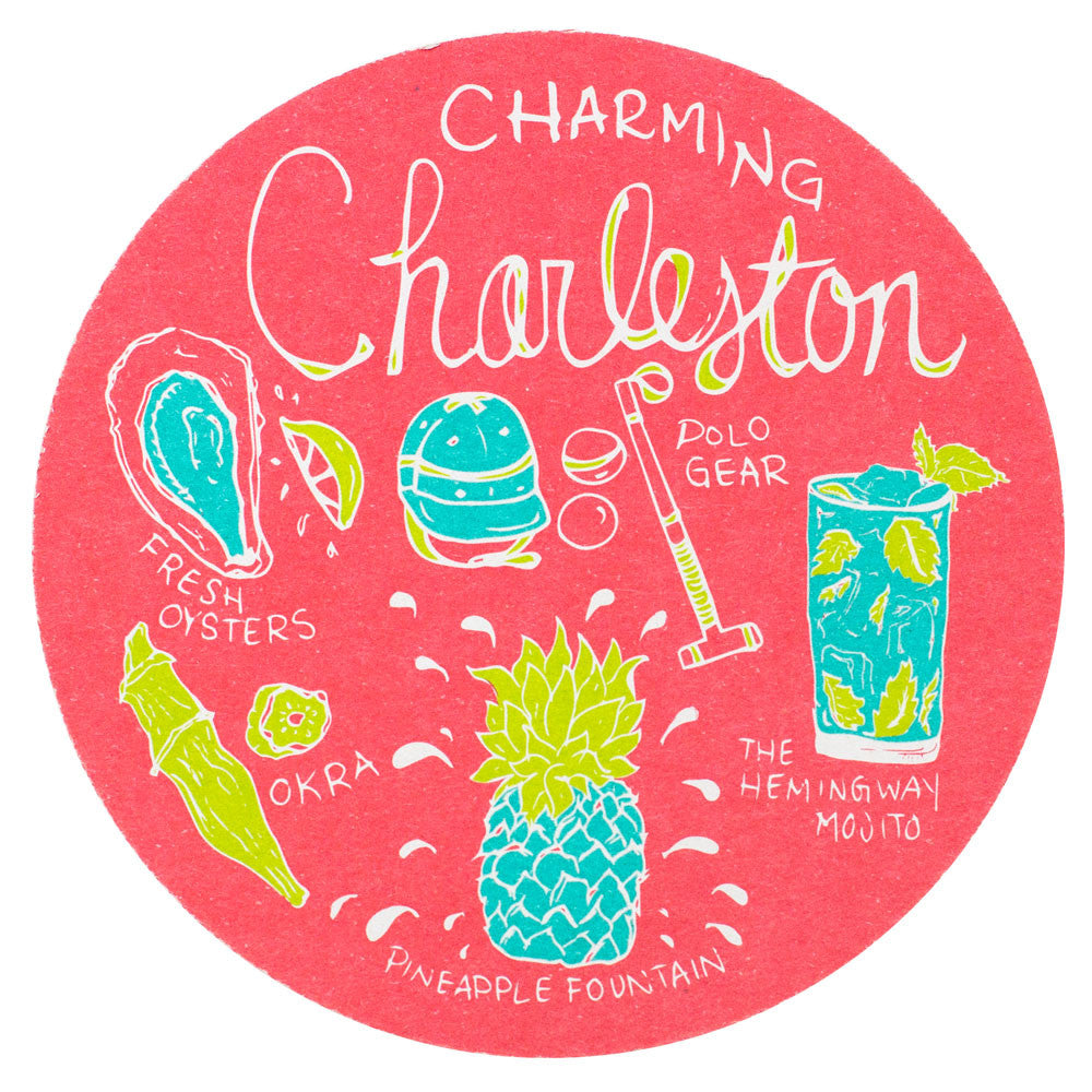 Charleston Charm Coaster Set