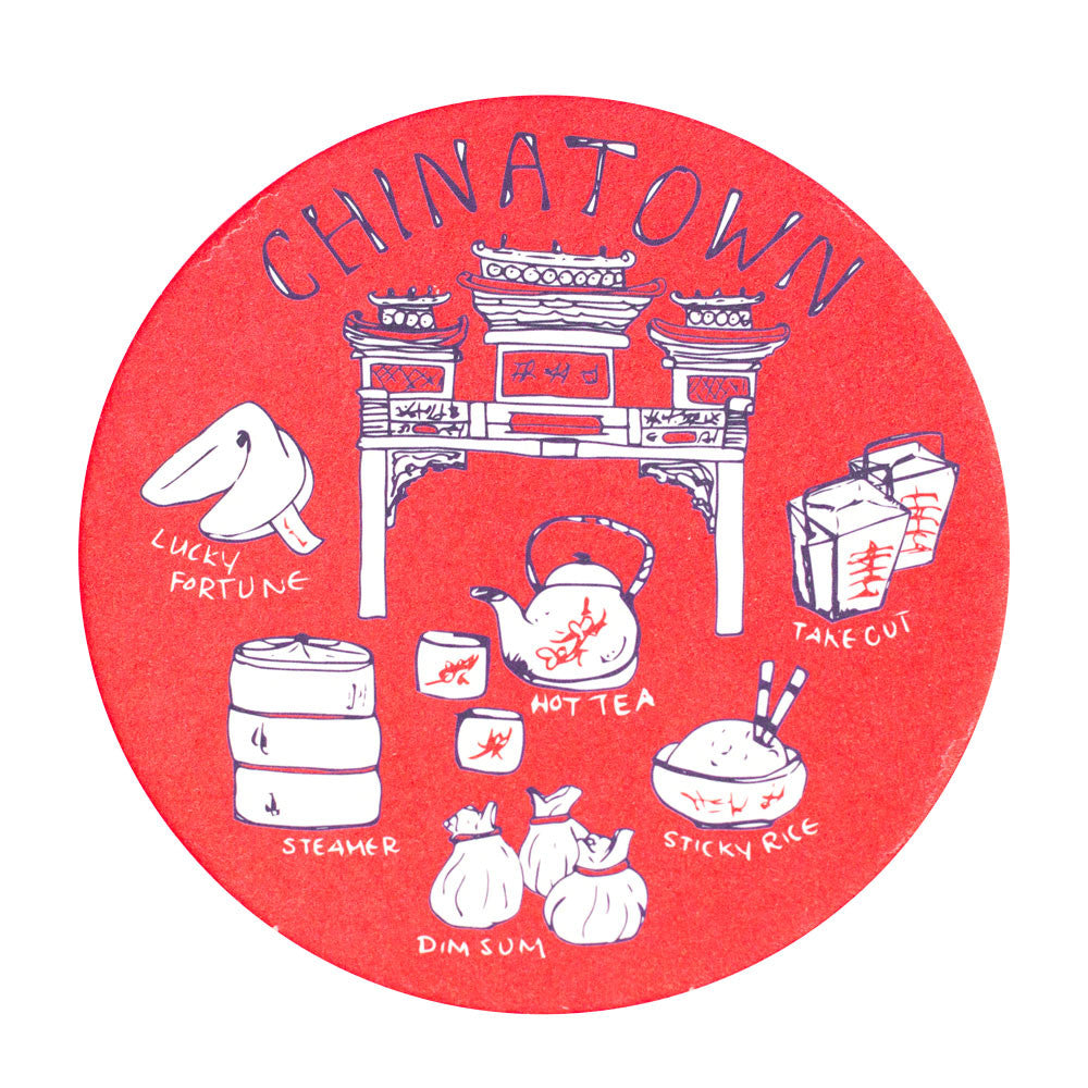 Chinatown Coaster Set