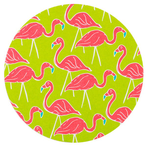 Flamingos Coaster Set