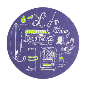 LA Living Coaster Set