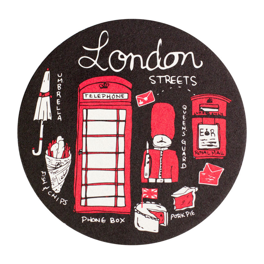 London Streets Coaster Set
