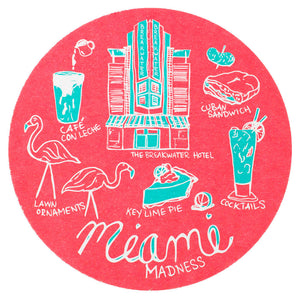 Miami Madness Coaster Set