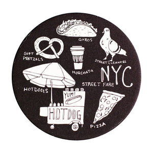 NYC Street Fare Coaster Sets