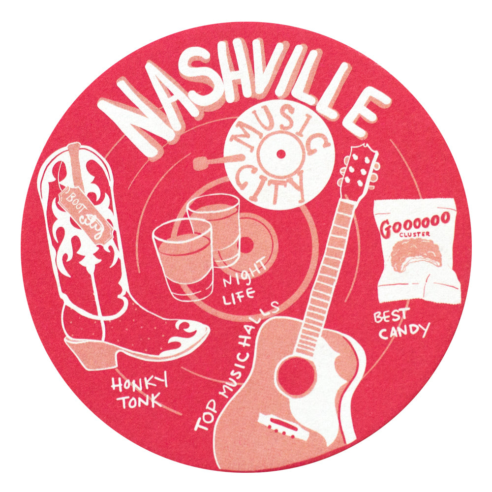 Nashville Coaster Set
