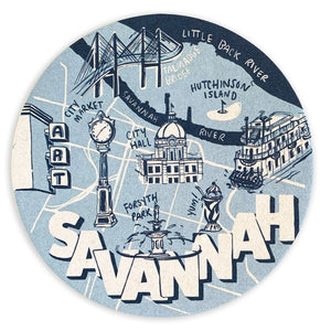 Savannah Coaster Set
