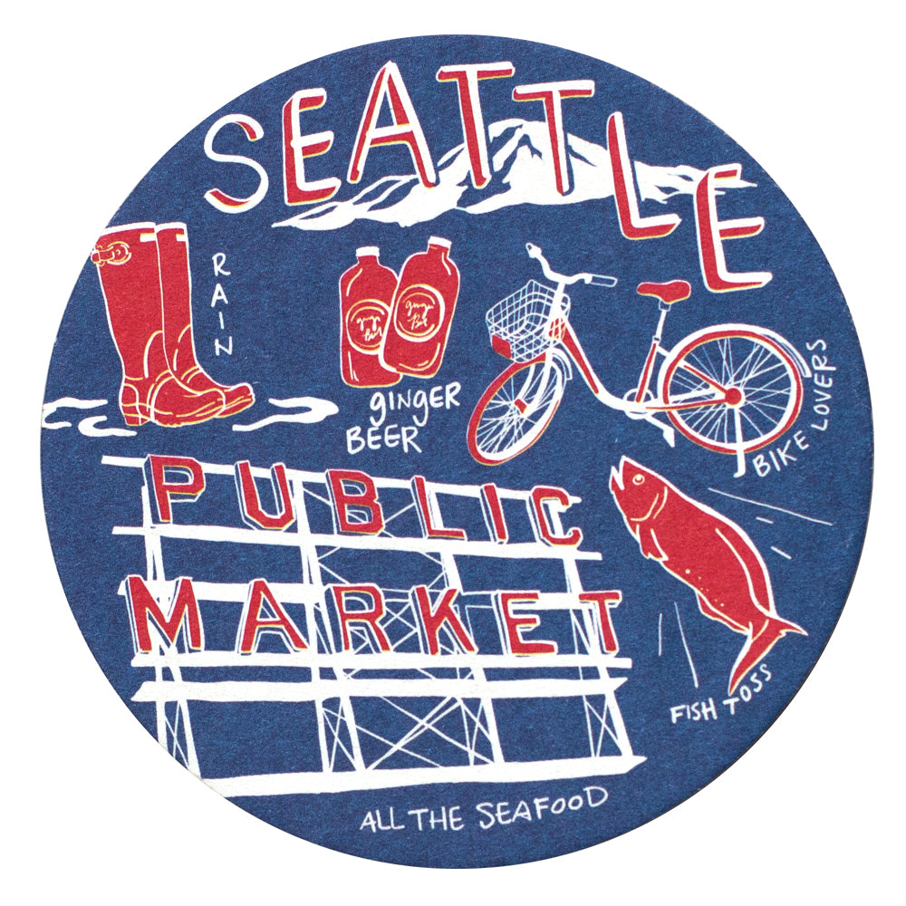 Seattle Coaster Set