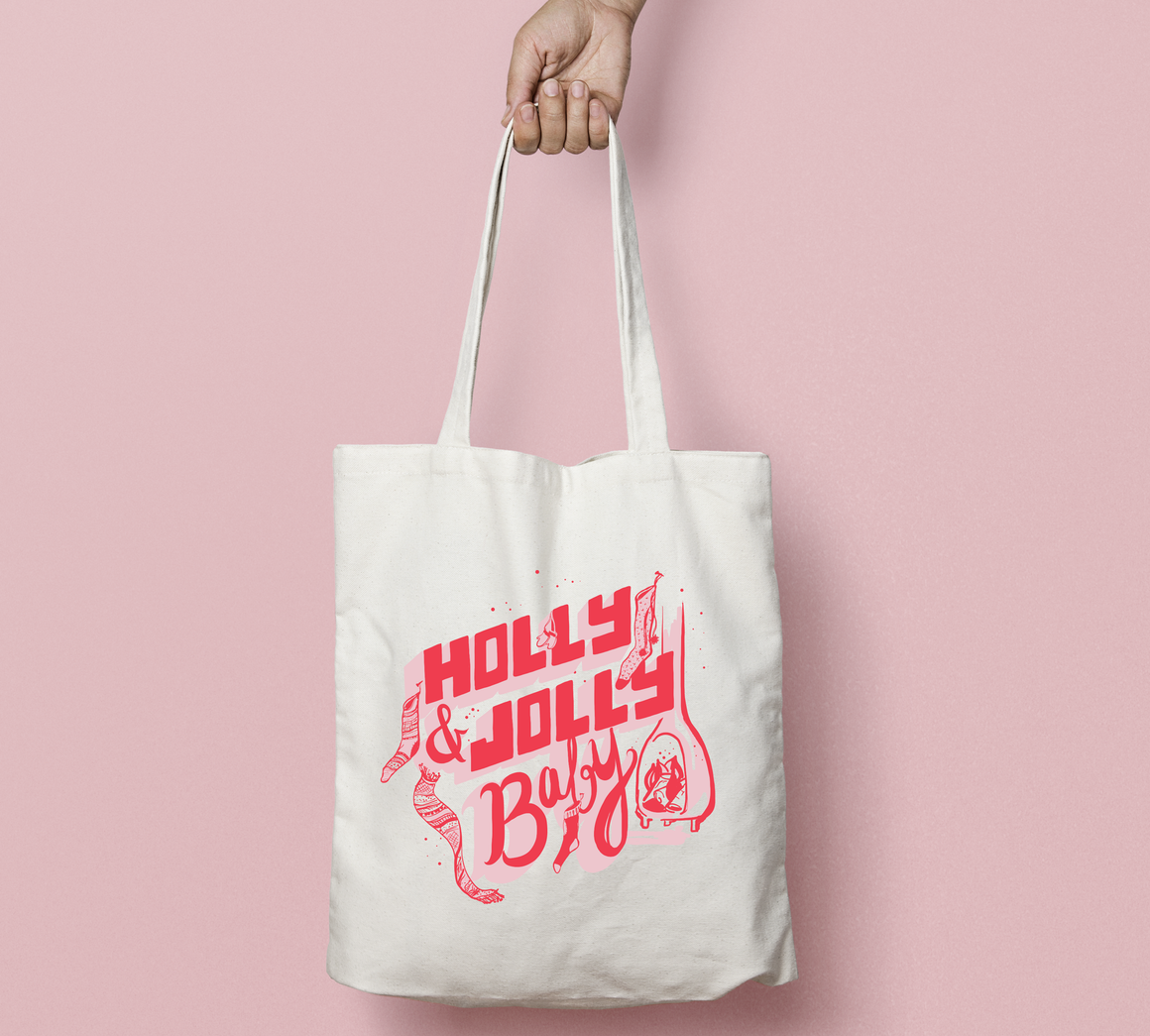 Holly & Jolly Holiday Tote